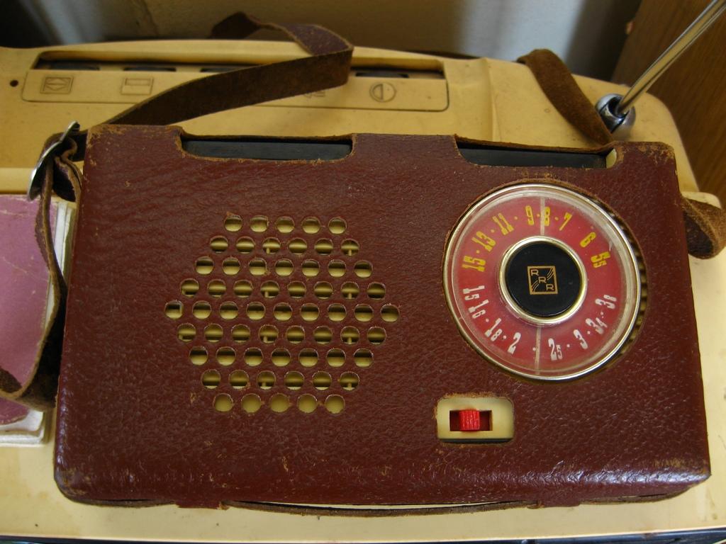Кишеньковий радіоприймач «Гауя»