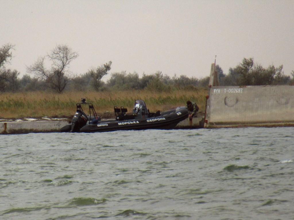 Берегова охорона на Джарилгачі