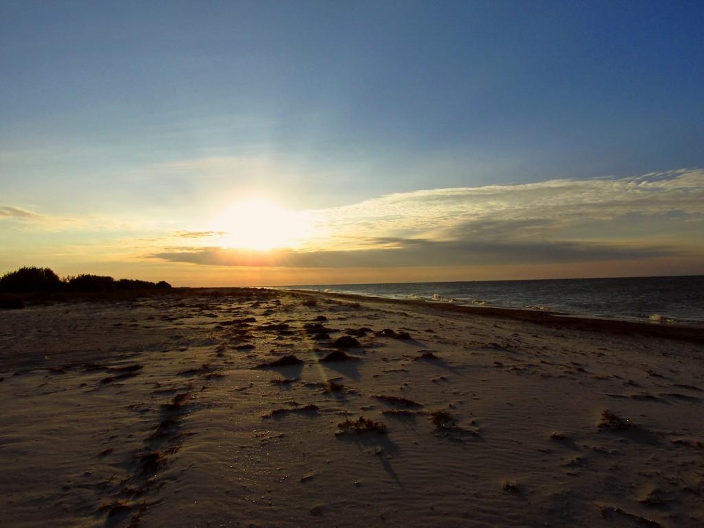 Схід сонця на Джарилгачі