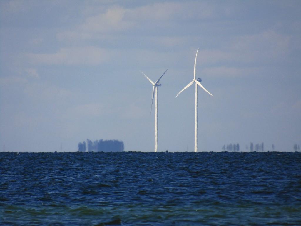 Вітряки в Скадовську