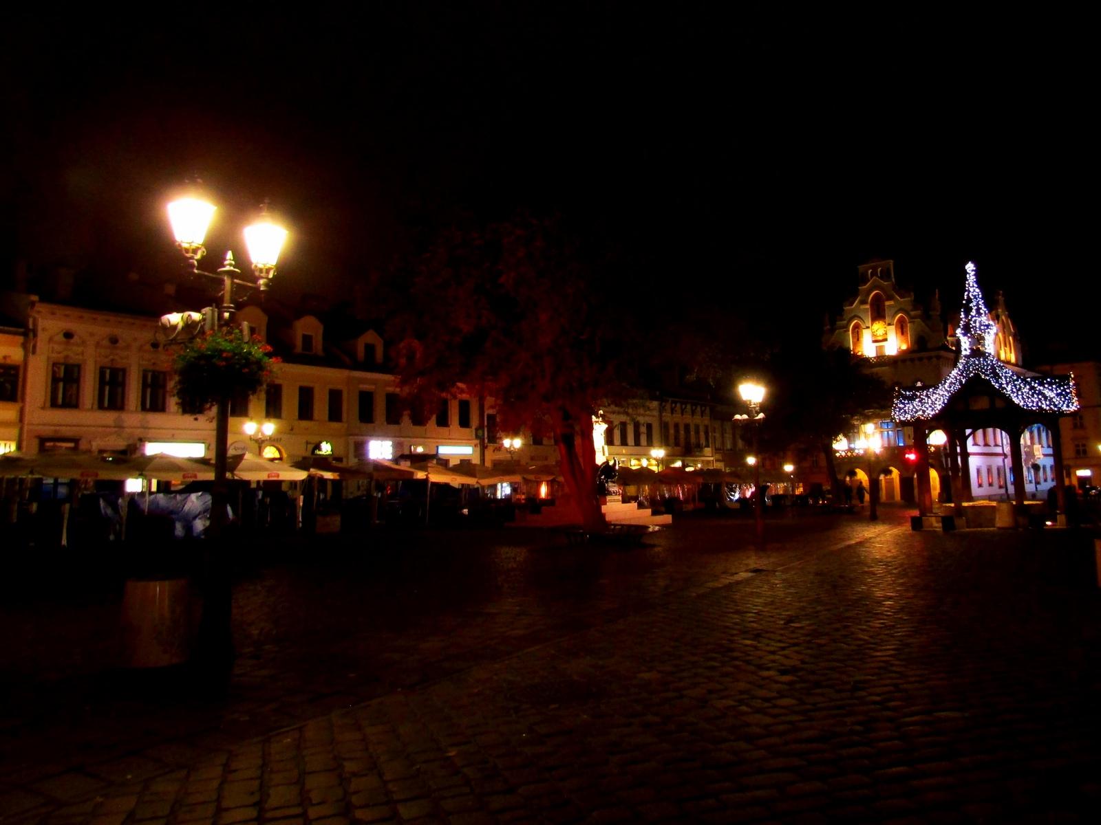 Вид на місто вночі