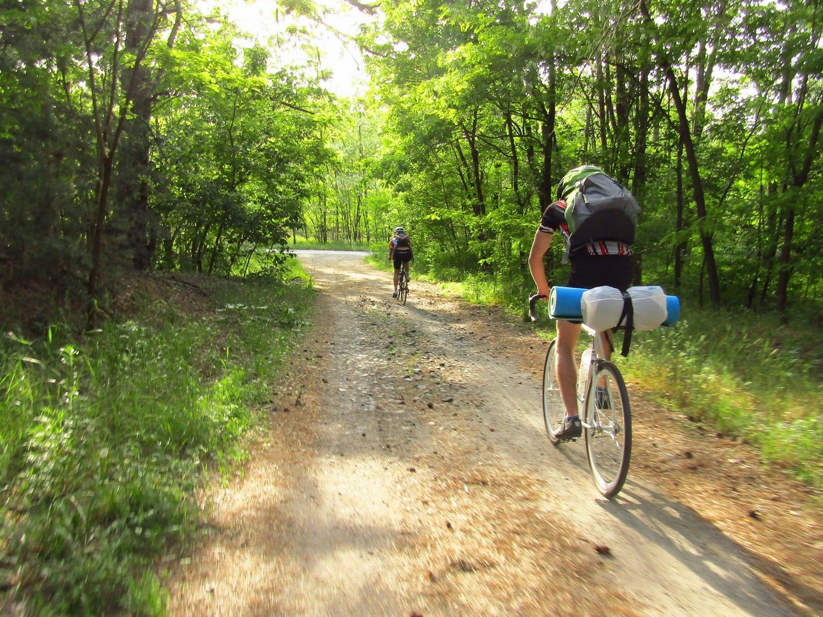 На велосипедах в Орбіту, Черкаська область