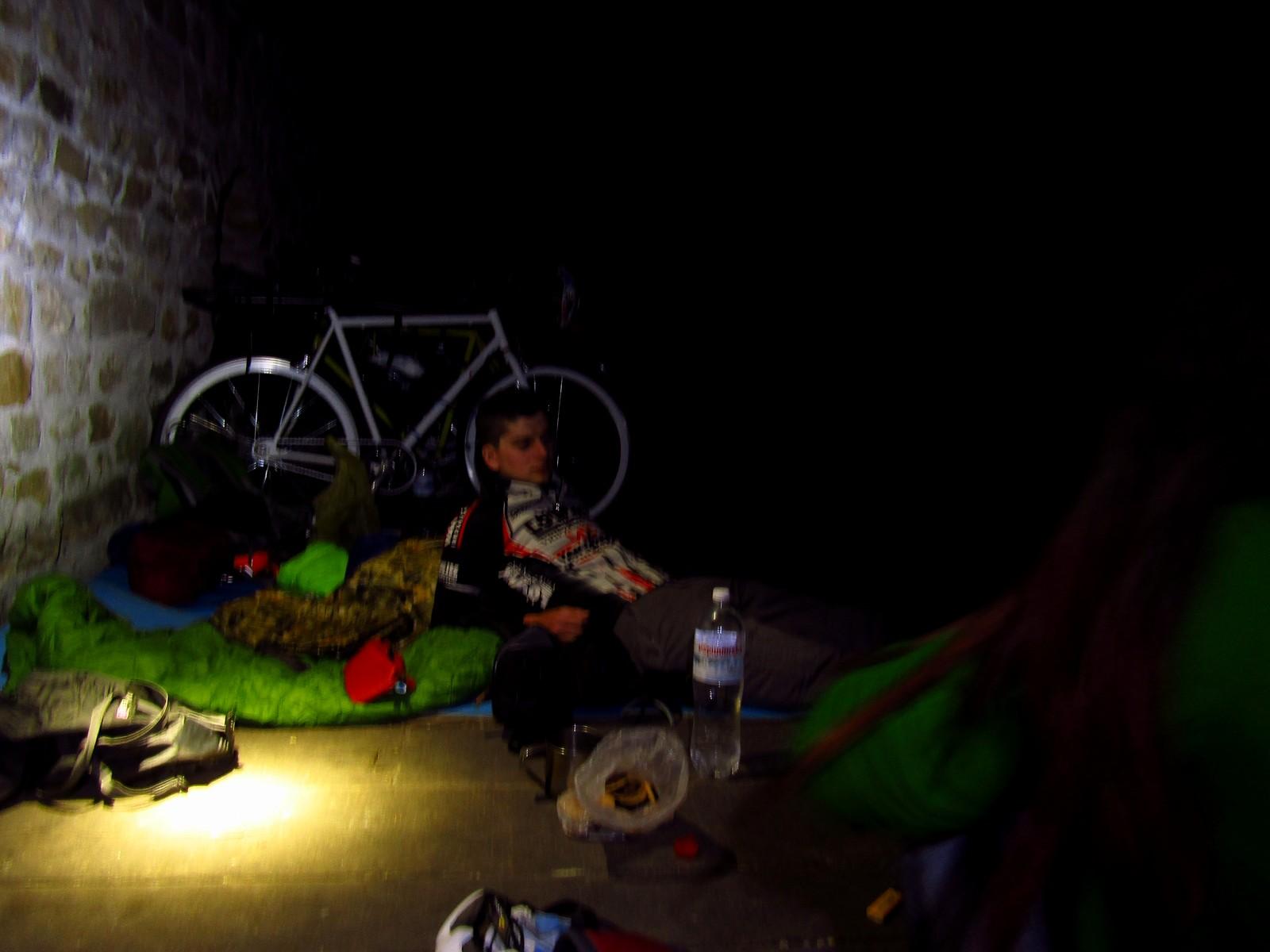 Ночівля в Чигиринській фортеці