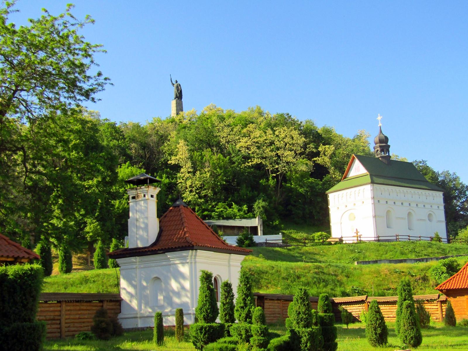 Вид на Замкову гору в Чигирині