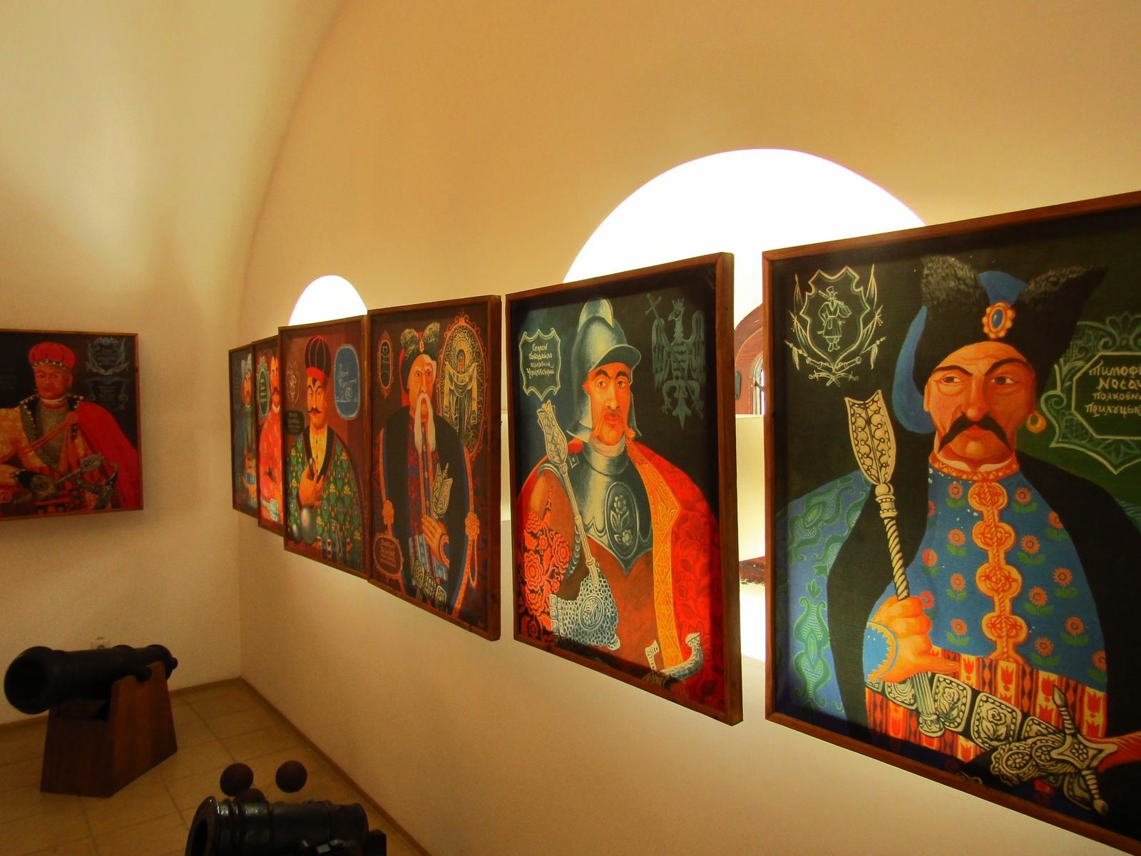 Картина висить на стіні