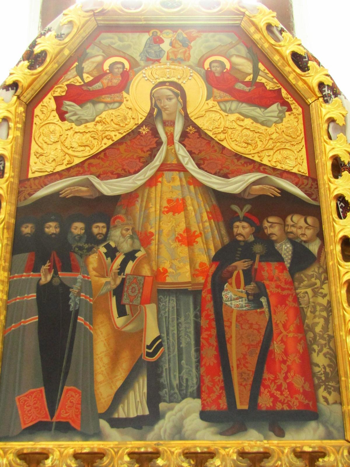 Ікона з Богданом Хмельницьким