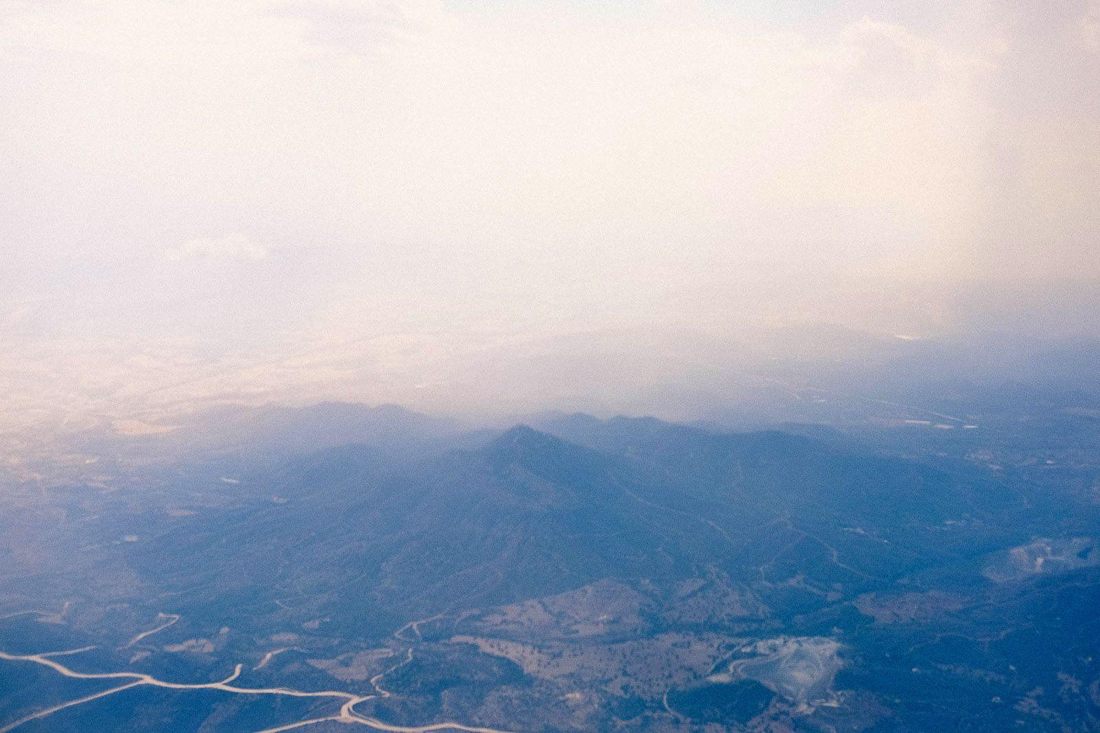 Кіпр з літака