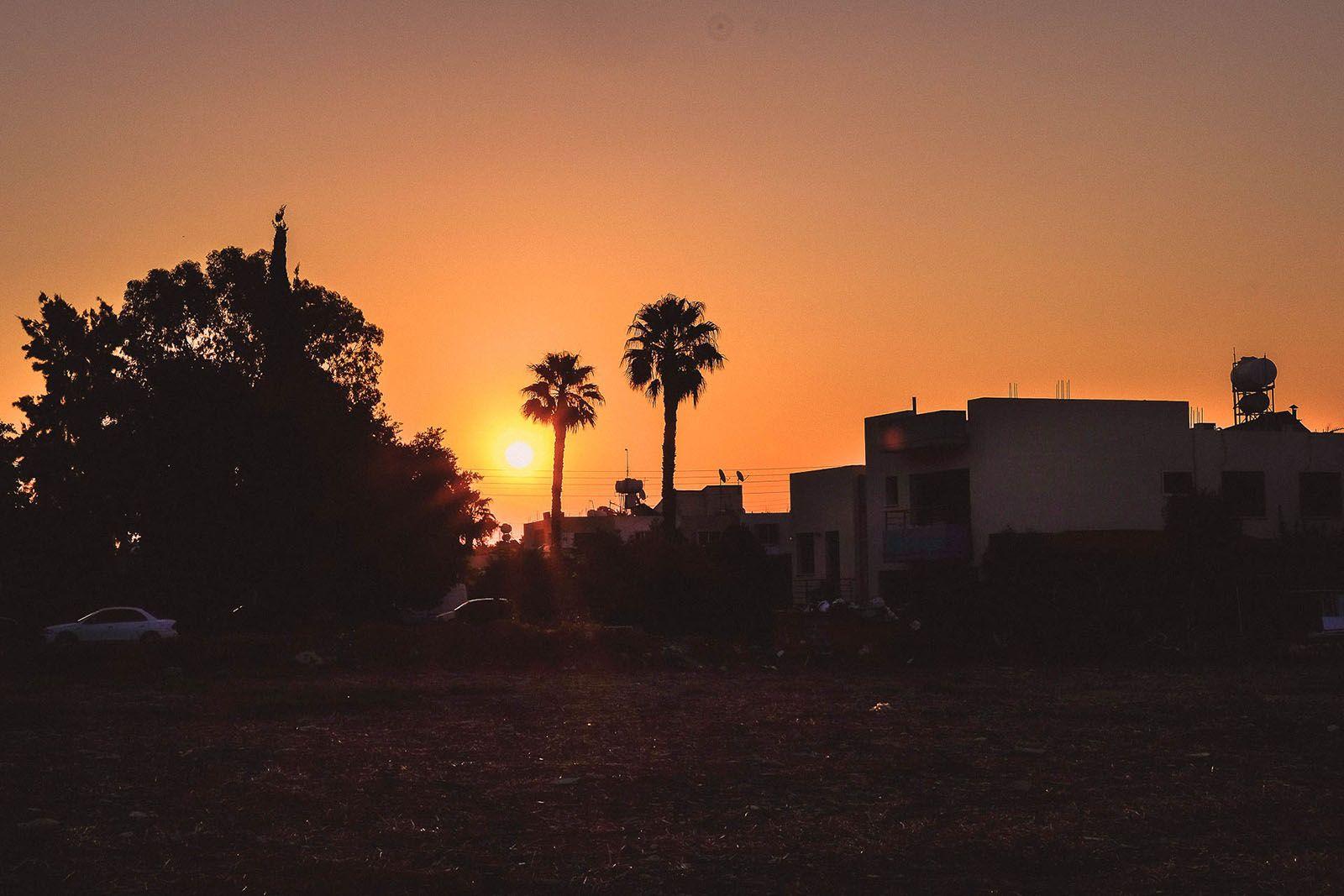 Захід сонця в Лімасолі