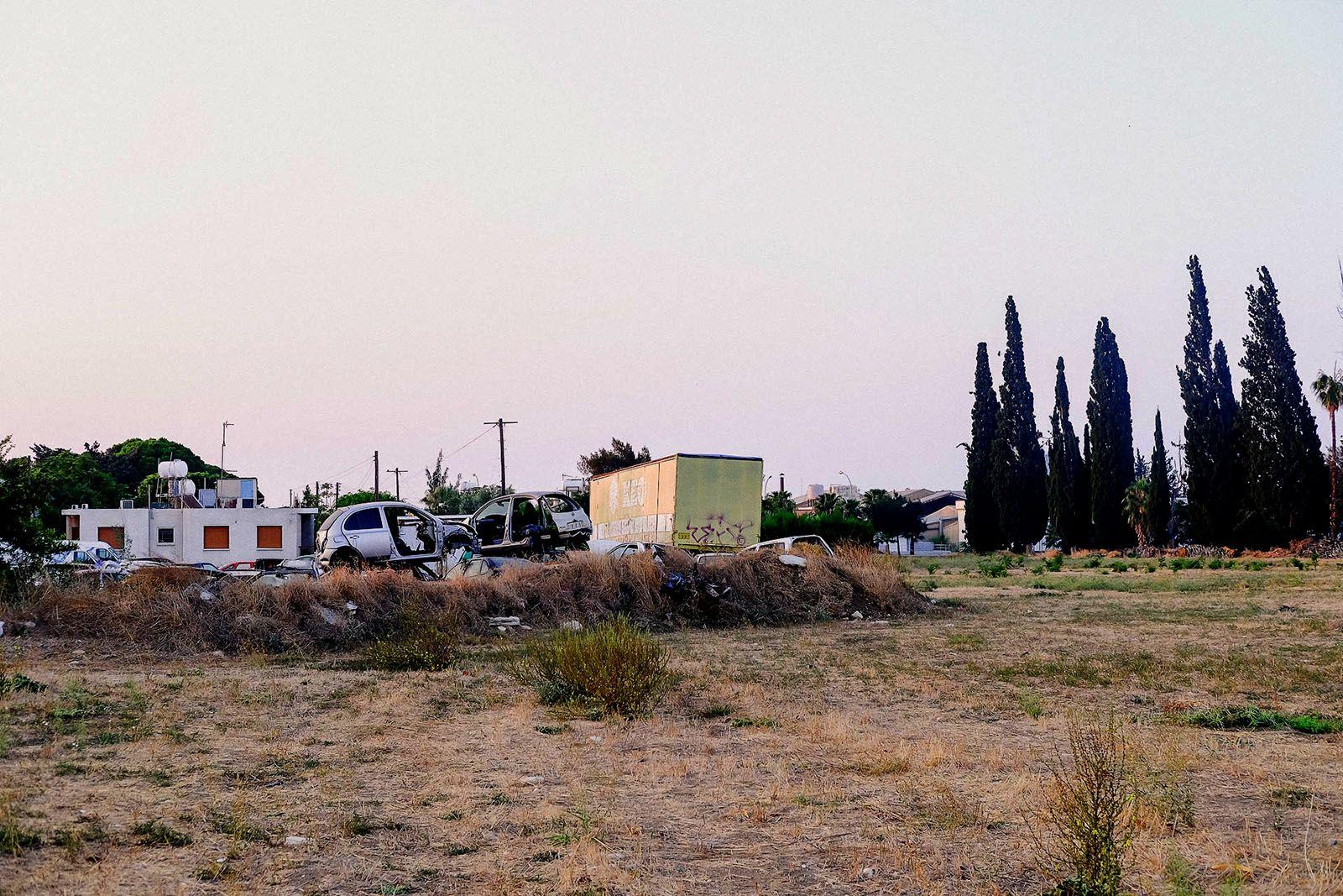 Звалище брухту в Лімасолі на Кіпрі