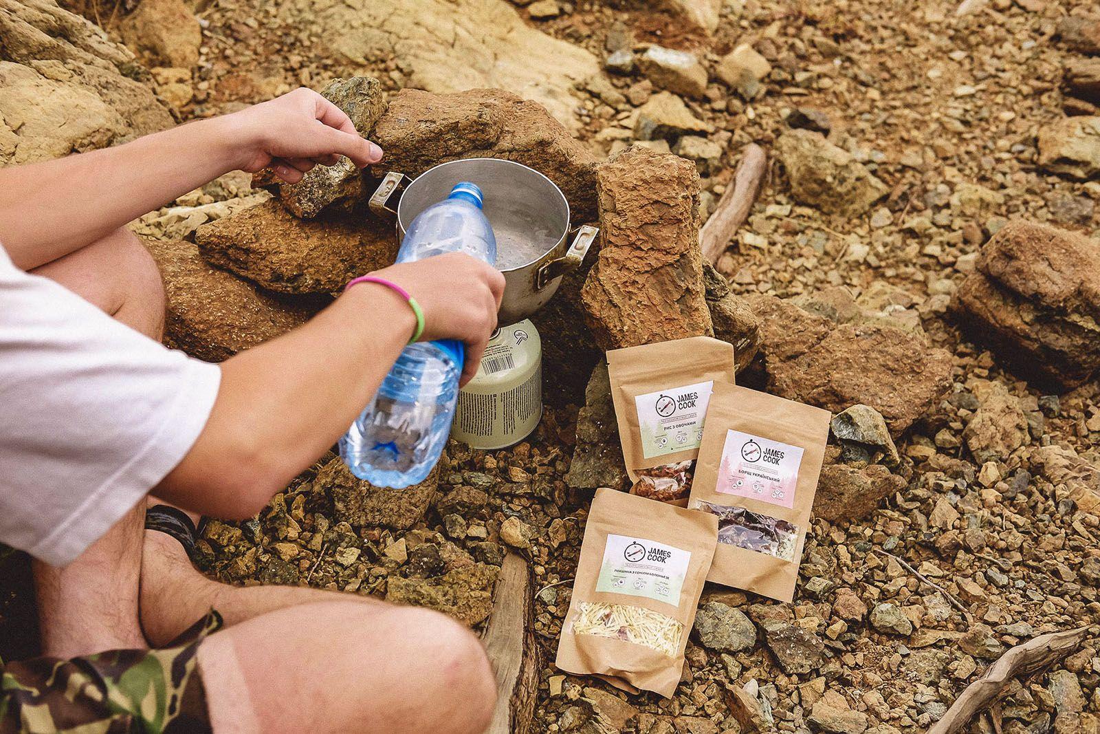 Приготування туристичної їжі