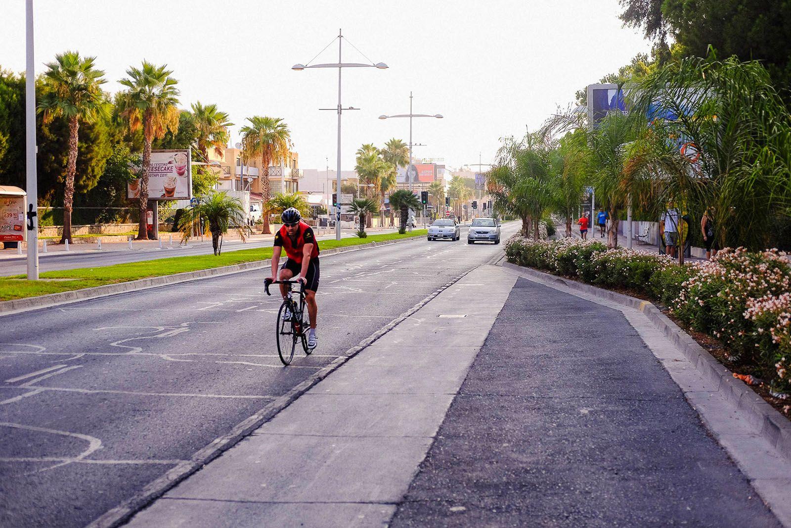 Велосипедист у Лімасолі