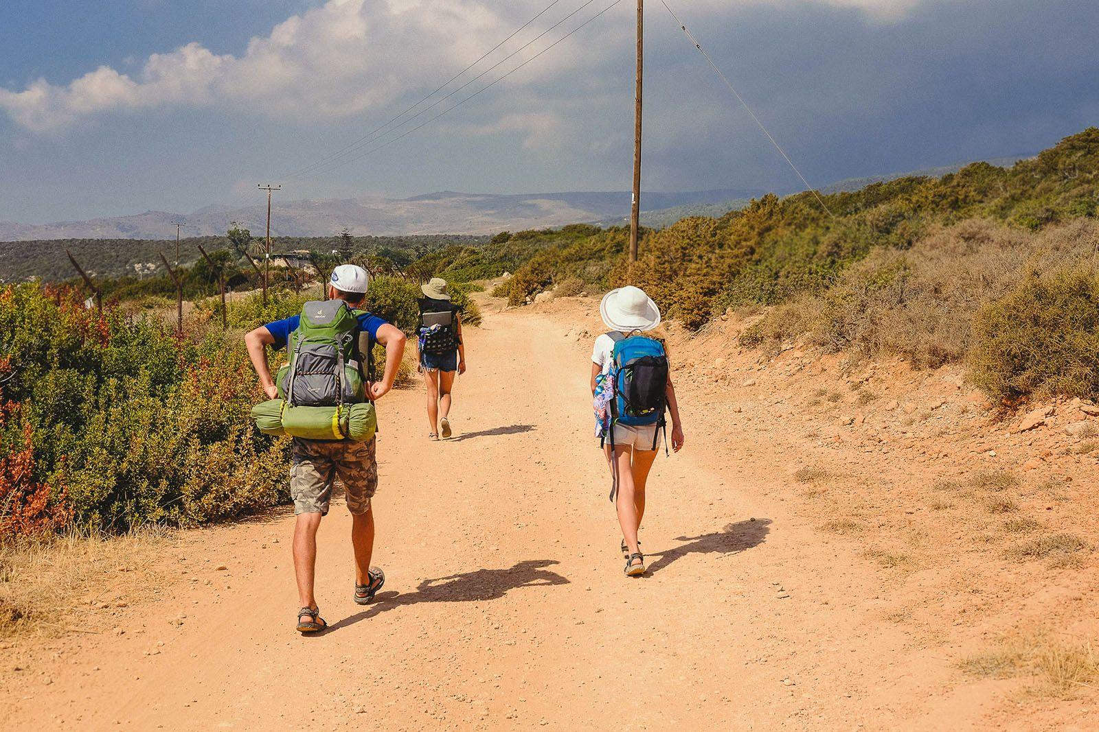 Дорога до каньйону Авакас на Кіпрі