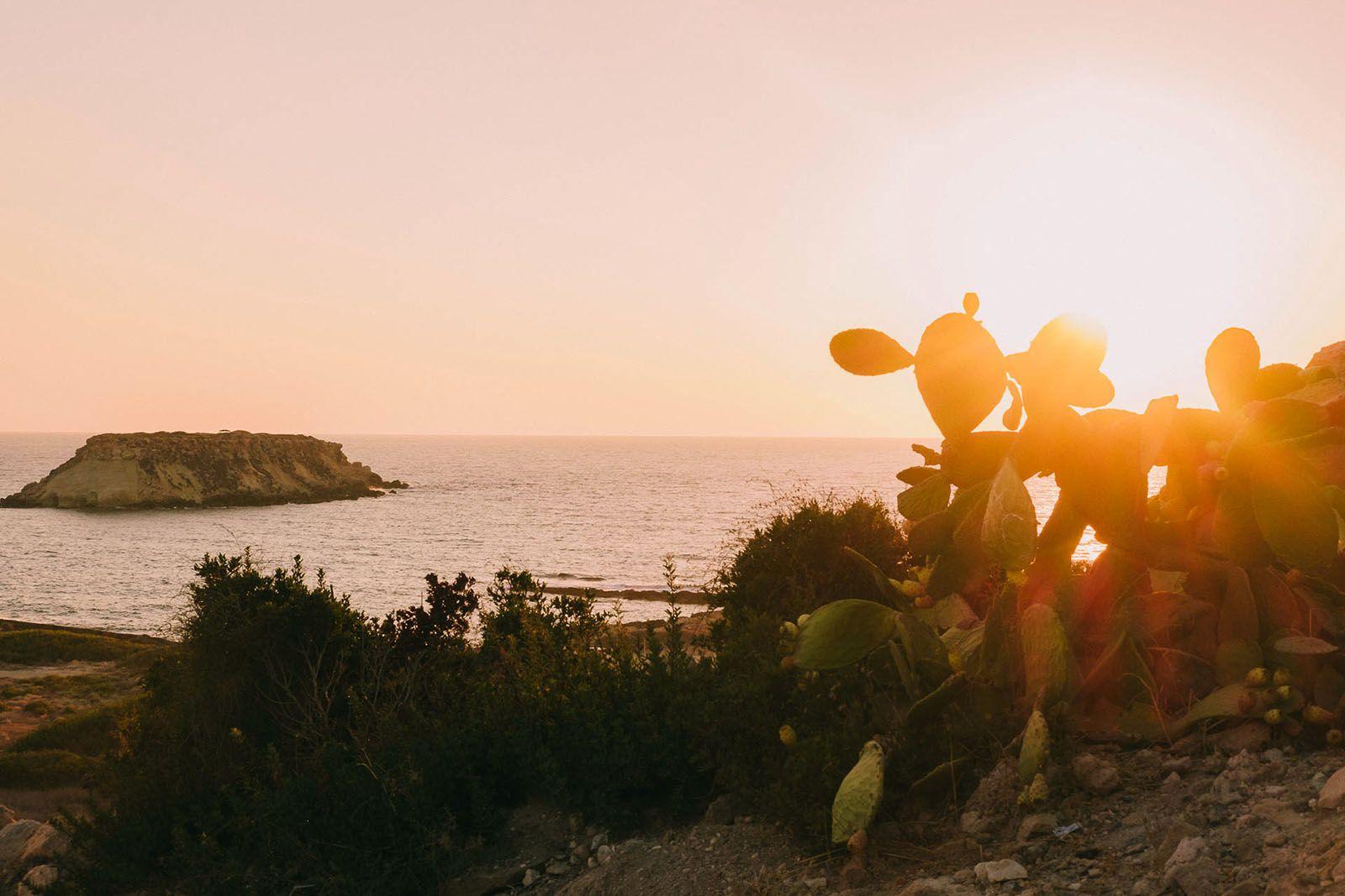 Захід сонця на Кіпрі