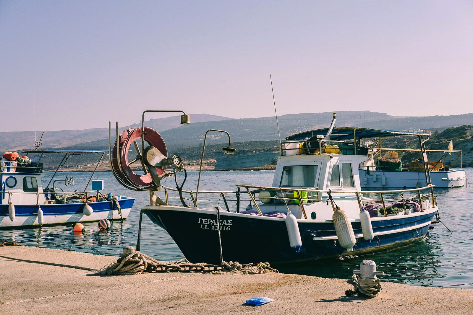 Причал на Кіпрі
