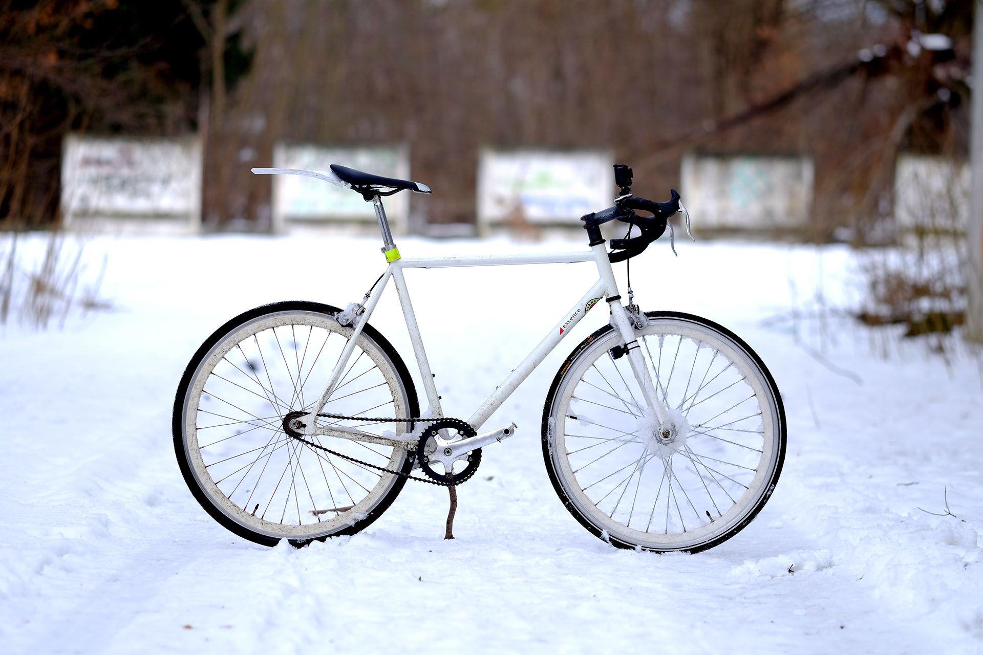 Крупним планом велосипеда