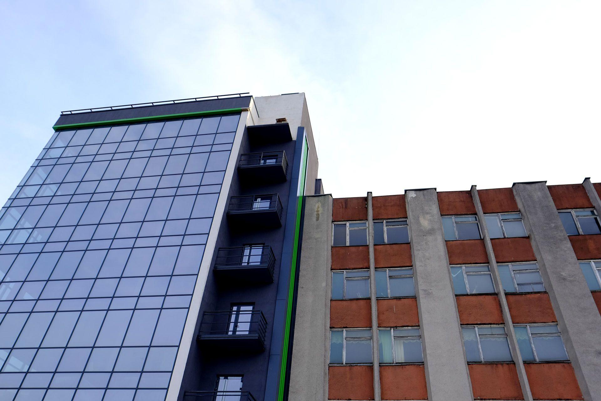 Дах будівлі