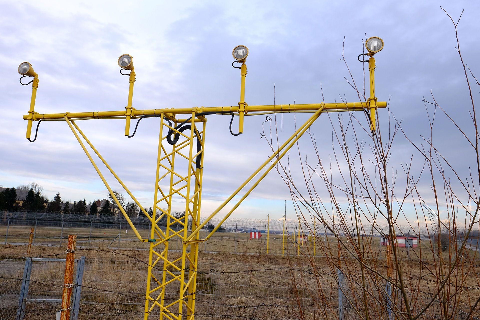 Вогні злітно-посадкової смуги (ЗПС) аеропорту Львів