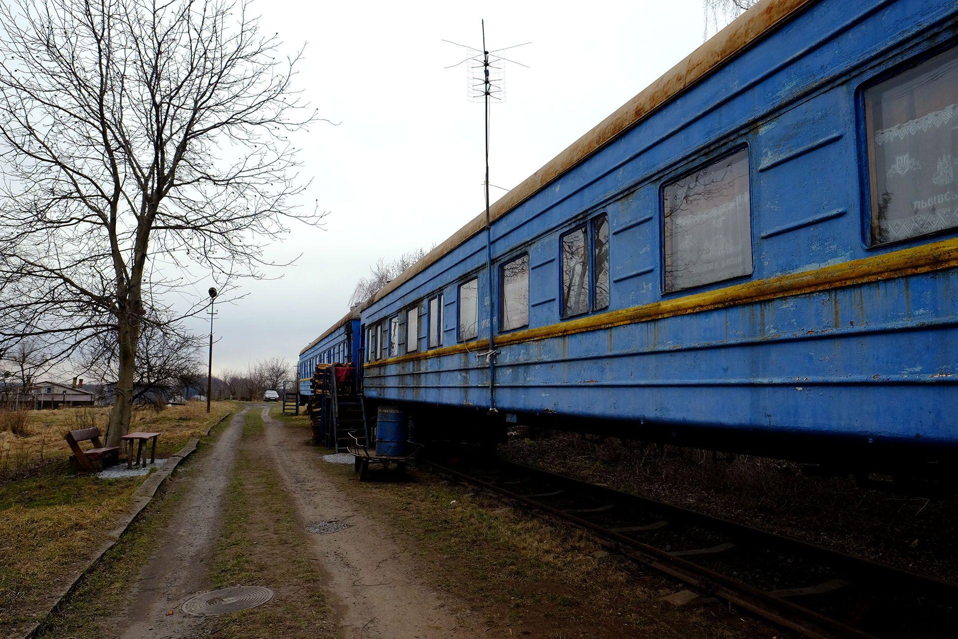 Життя у залізничних вагонах