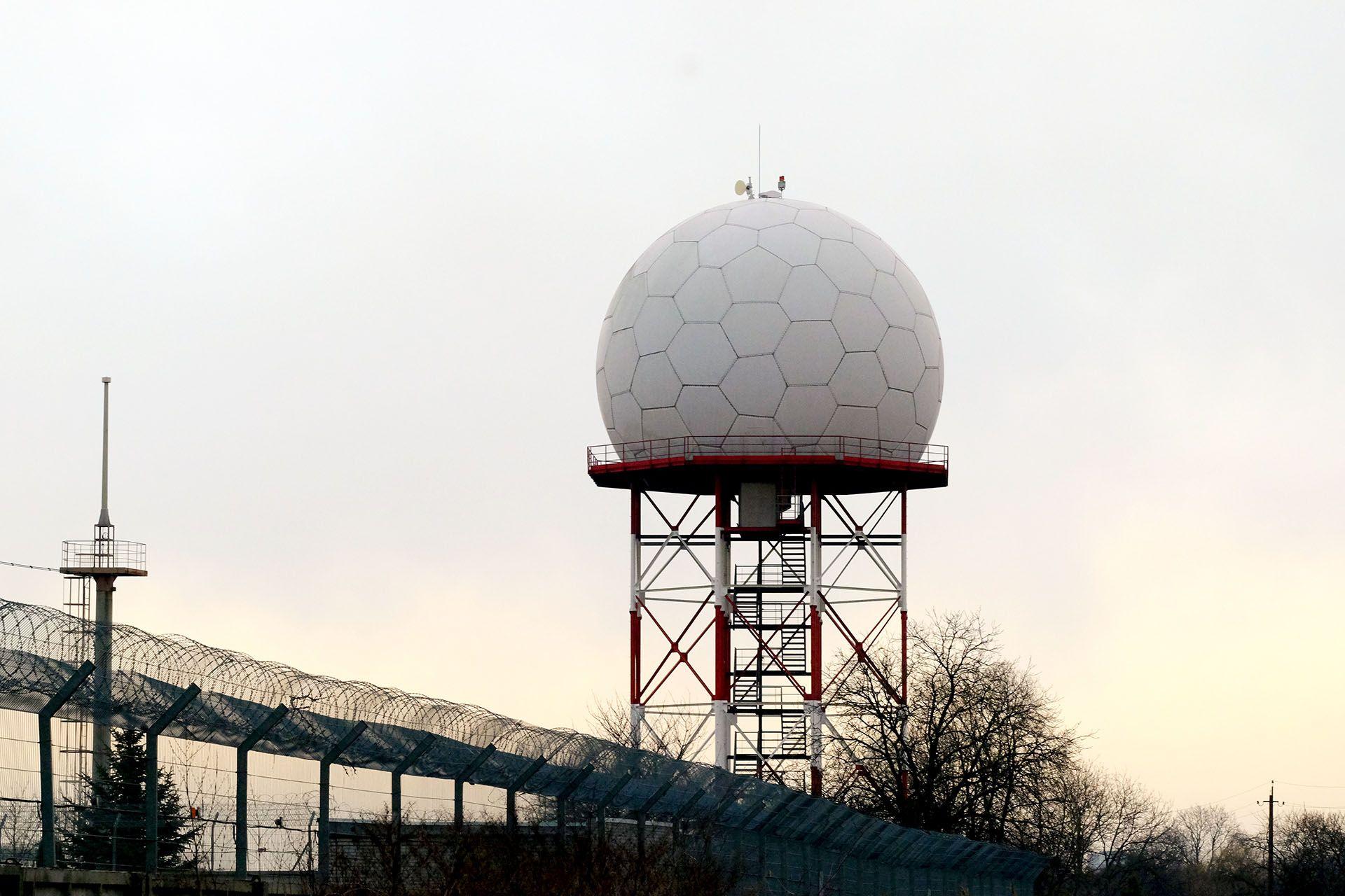 Погодний радар метеостанції львівського аеропорту