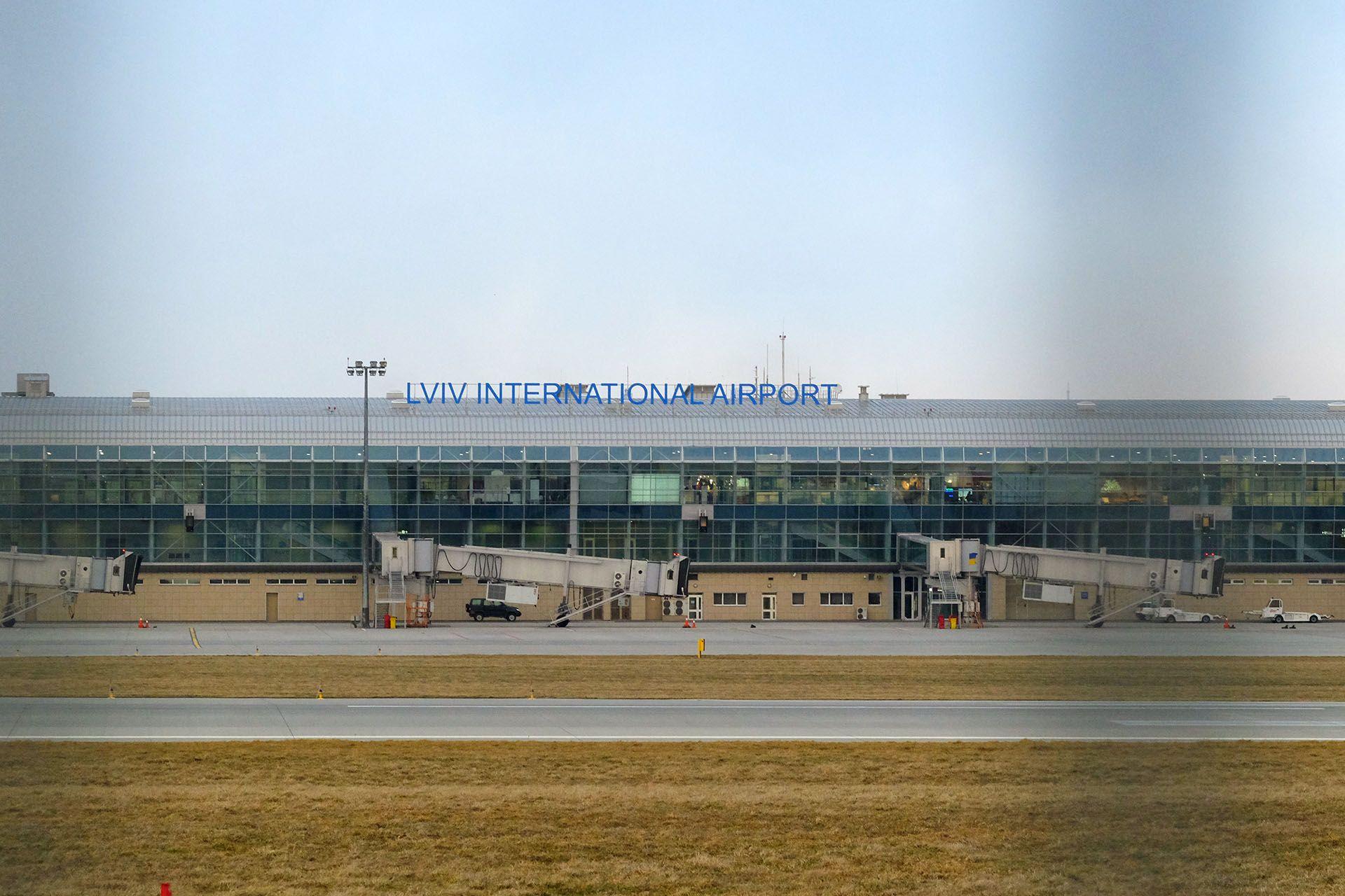 Термінал «А» аеропорту Львів