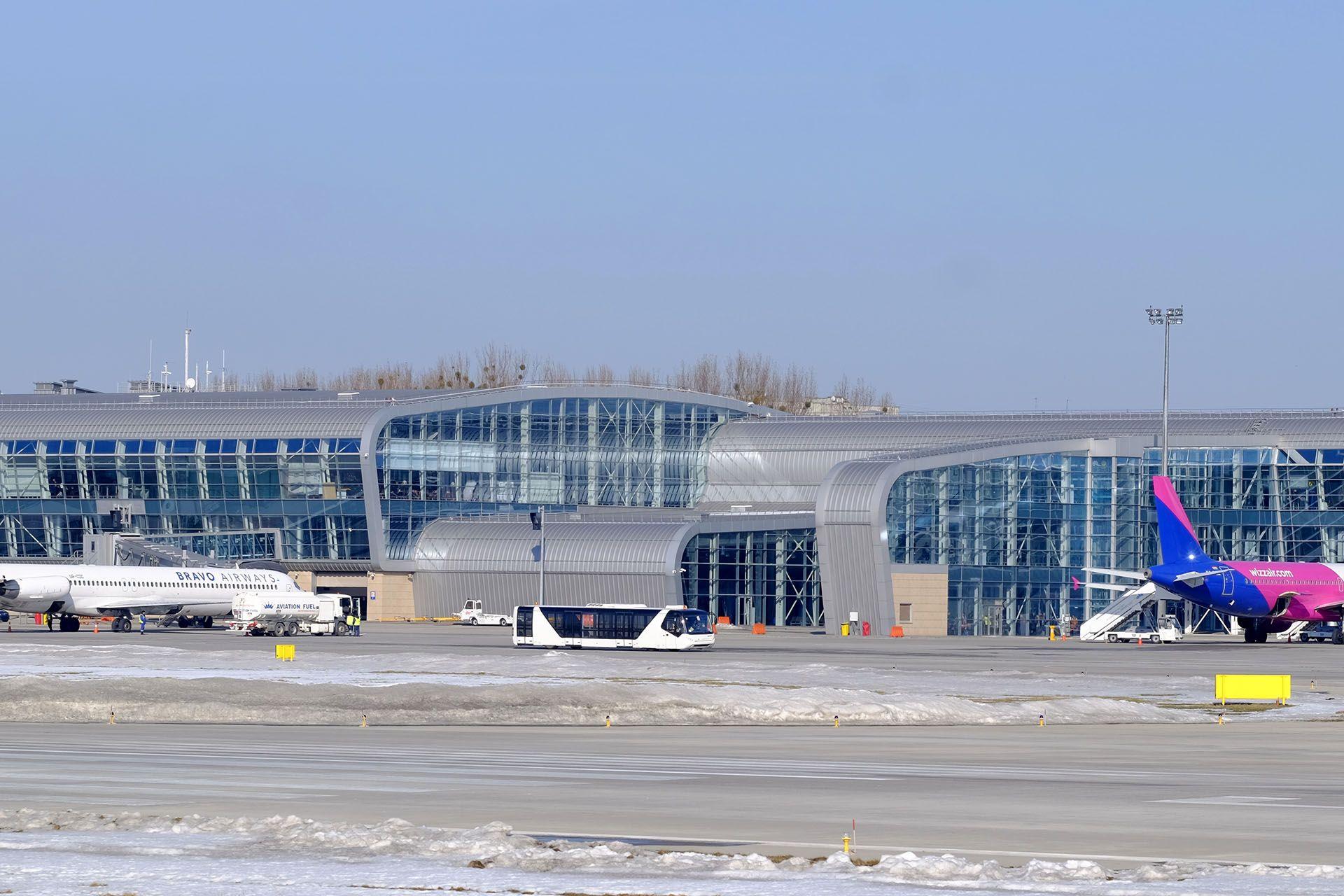 Термінал «А» львівського аеропорту