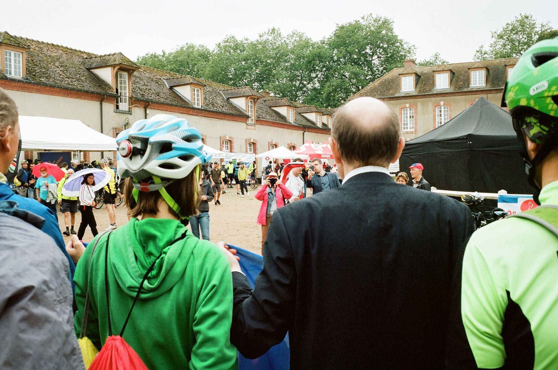 Спільне фото разом із послом України у Франції