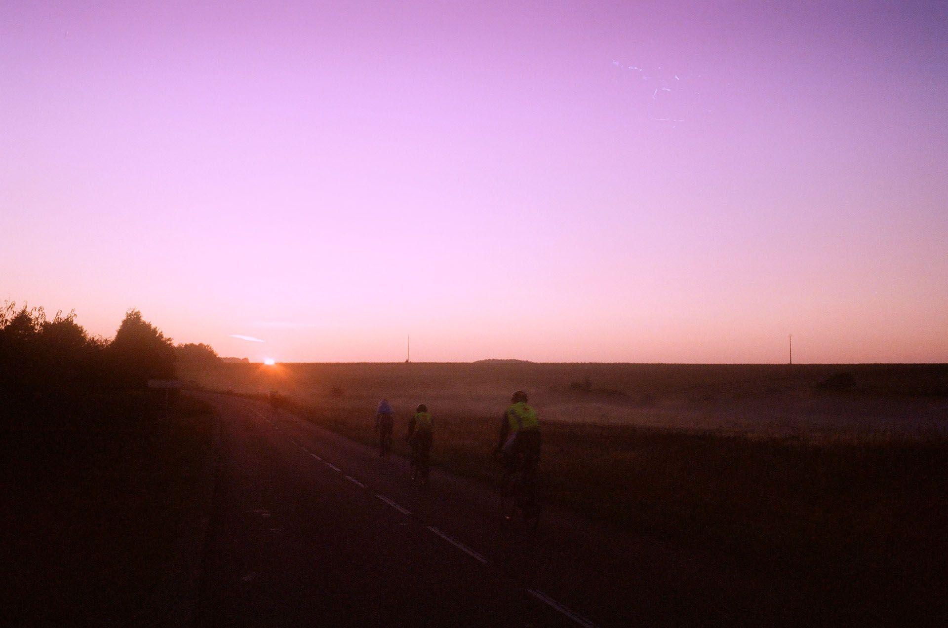 Красивий схід сонця