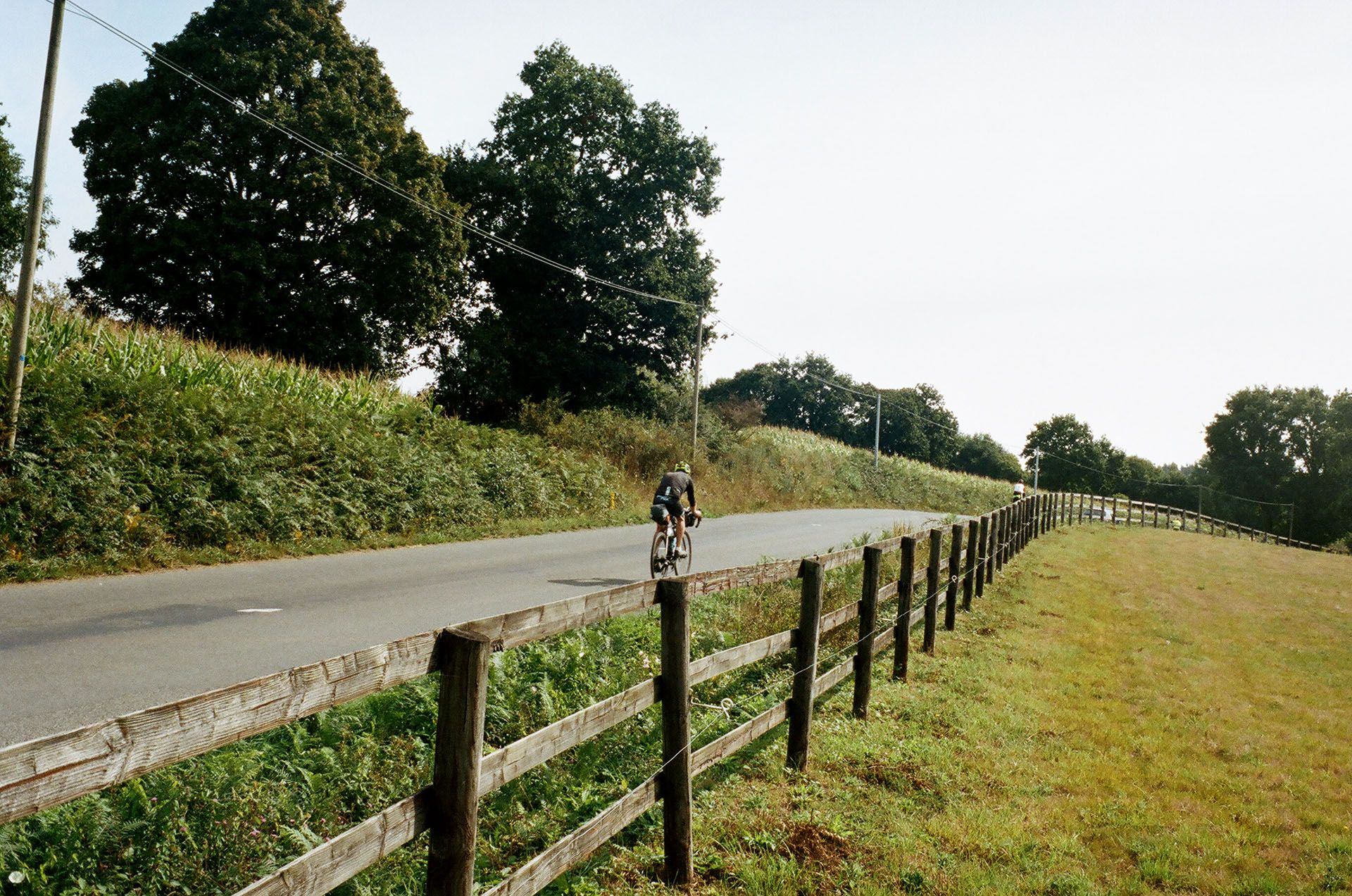 Самотній велосипедист