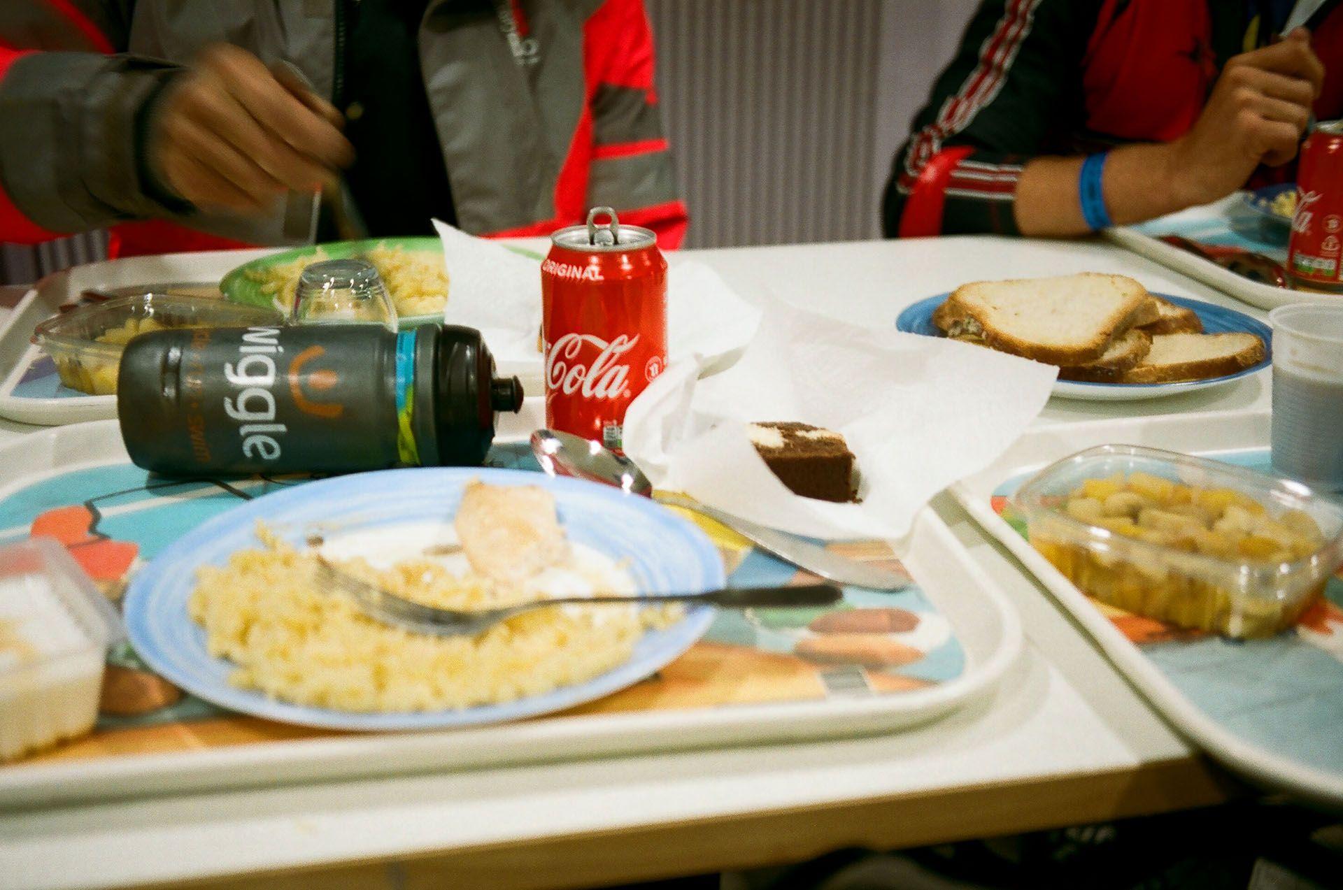 Їжа на КП