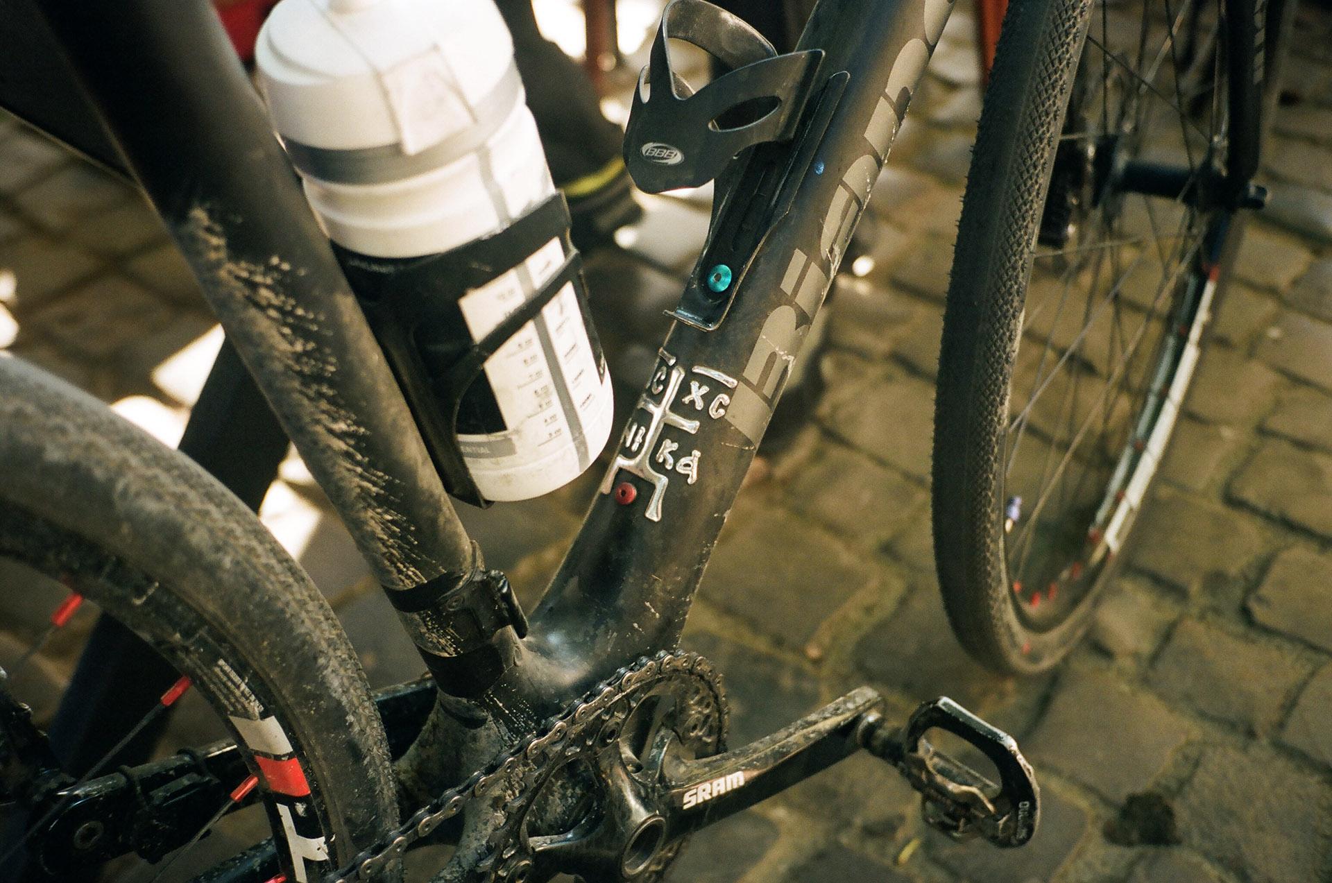 Крупним планом велосипед