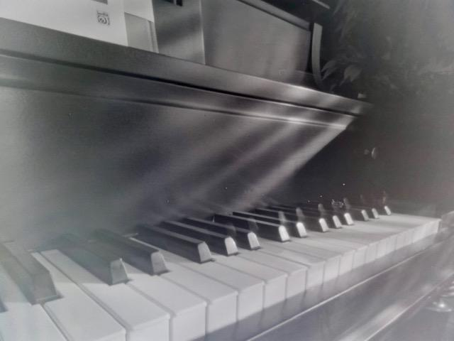Піаніно крупним рядом